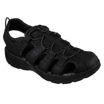 Mens Skechers Melbo podróż człowieka 2 lekkie wyciąć sportowe sandały