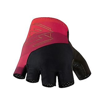 Madison Ruby Red 2017 Roadrace Fingerless Cycling Gloves