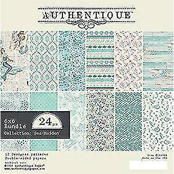 Authentique Sea Maiden 6x6 Inch Paper Pad (SMA011)