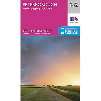 Peterborough - Market Deeping & Chatteris (February 2016 ed) by Ordna