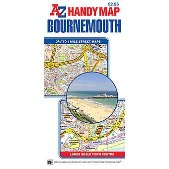 Handy Map of Bournemouth - 9781782571346 Book