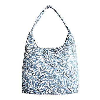 William morris - willow bough shoulder hobo bag by signare tapestry / hobo-wiow