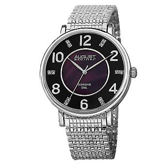 August Steiner AS8138SSB Classic Stainless Steel And Sport Watches
