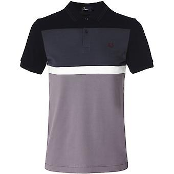 Fred Perry blokeret panel Polo skjorte M6519 102