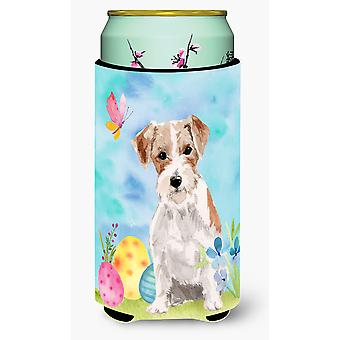 Wire Hair Jack Russell Easter Tall Boy Beverage Insulator Hugger