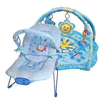Ladida Babysitter und Babygym Blue Little Star Paket Angebot