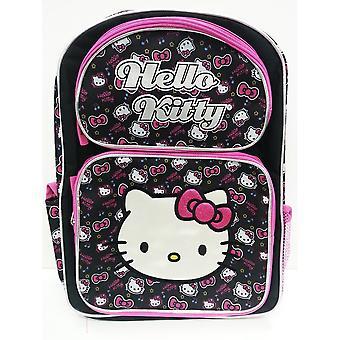 Backpack - Hello Kitty - Black Tone 16