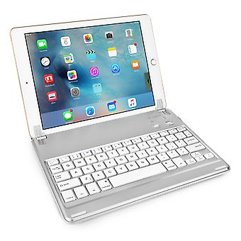 Caseflex iPad Air and Air 2 Keyboard - Silver
