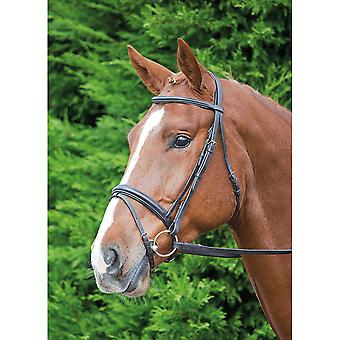 Shires Aviemore Comfort Fit Bridle - Black