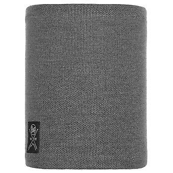 Buffera Grey Neo Knitted And Polar Neckwarmer
