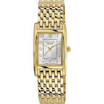 Dugena - Wristwatch - Women - Quadra Artdéco - Traditional Classic - 7090121-1