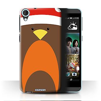 STUFF4 Case/Cover for HTC Desire 820s Dual/Robin/Christmas Character
