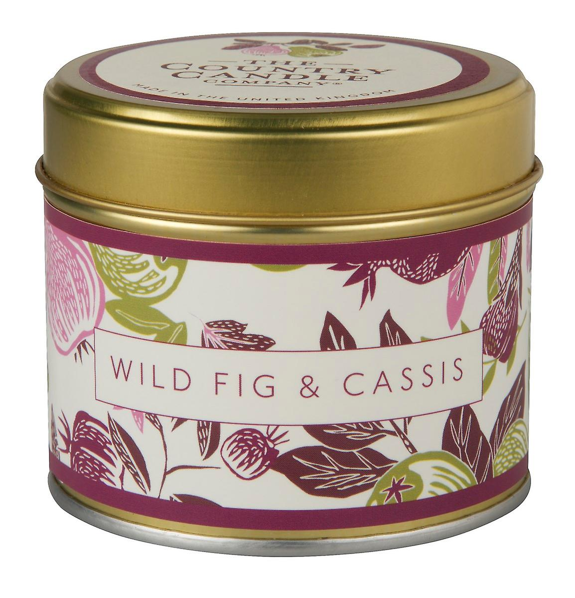 Fragrant Orchard Candle in a Tin - Wild Fig & Cassis