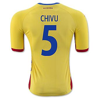 2016-17 Romania Home Shirt (Chivu 5)