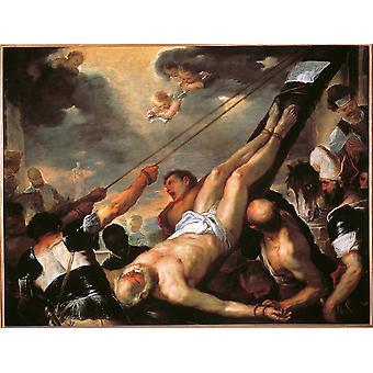 Kreuzigung von St Peter Poster drucken