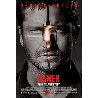 Stampa del manifesto del film Gamer (27 x 40)