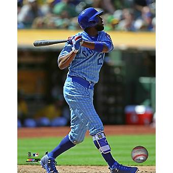 Jason Heyward 2016 Action Photo Print