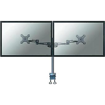 2x Monitor desk mount 25,4 cm (10) - 68,6 cm (27) Swivelling/tiltable, Swivelling NewStar Products