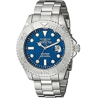 Invicta Men's 15176 Pro Diver Analog Display Swiss Quartz Silver Watch