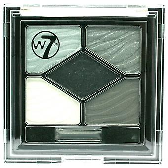 W7 Silky Eyes Shadow Palette