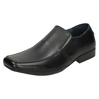 Mens низкий каблук формального обувь A1043