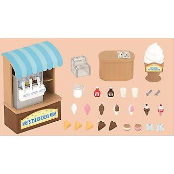 Sylvanian Families Ice Cream Shop (Toys , Dolls And Accesories , Miniature Toys , Stages)
