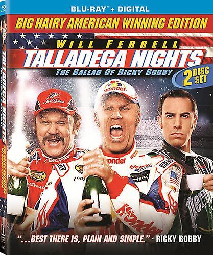 Talladega Nights: The Ballad of Ricky Bobby [Blu-ray] USA import