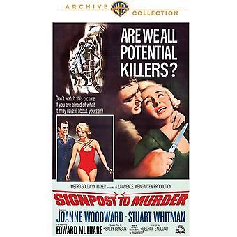 Poste indicador para importar de Estados Unidos de asesinato [DVD]