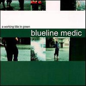 Bschramm Medic - arbejder titel i grøn EP [CD] USA import