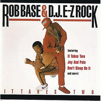 Rob Base & D.J. E-Z Rock - det tager to [CD] USA import