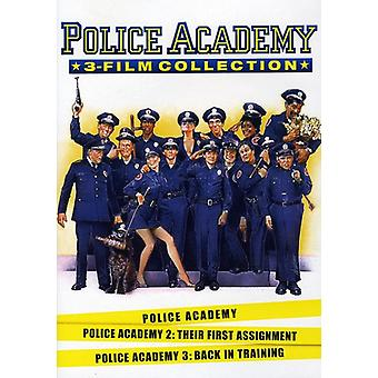 Police Academy 1-3 samling [DVD] USA importerer