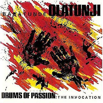 Babatunde Olatunji - trommer af lidenskab: The aktivering [CD] USA import