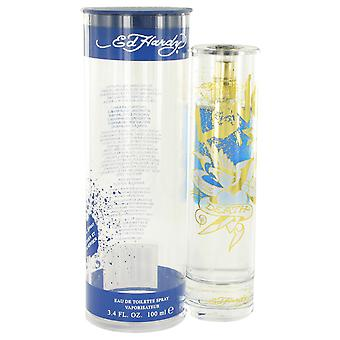 Christian Audigier Men Ed Hardy Love Is Eau De Toilette Spray By Christian Audigier