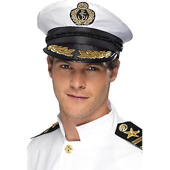 Kapitänsmütze Kapitän mit gold Käptn Seemann Matrose