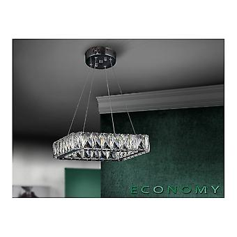 Schuller Diva LED Open Square Crystal Pendant