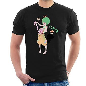 Ero Guro Girl Manga Style Men's T-Shirt