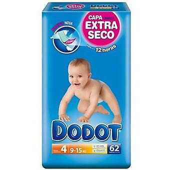 Dodot Diapers Size 4 (9-15 Kg) 62 Units (Childhood , Diaper and changers , Diapers)
