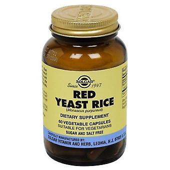 Solgar Red Yeast Rice 600 mg 60 Capsules