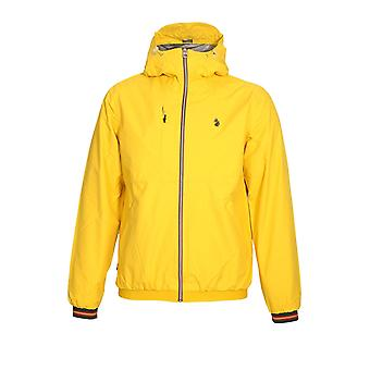 LUKE SPORT Sir Walter Sport Zip Through Tech Jacket | Lux Yellow