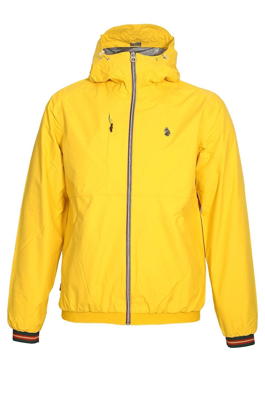 Luke Sport Sir Walter Sport Zip Through Tech Jacket   Lux jaune