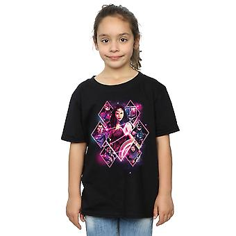 DC Comics Girls Justice League Movie Team Diamonds T-Shirt
