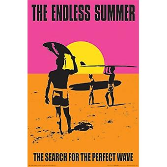 Endless Summer Perfect Wave Poster Poster Print