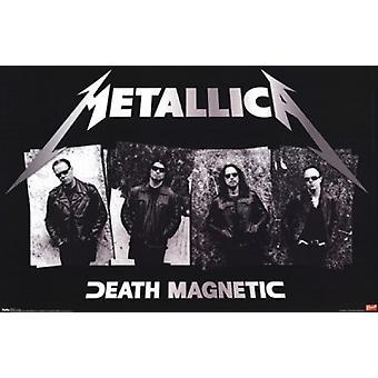 Metallica - Death Magnetic plakat plakatutskrift