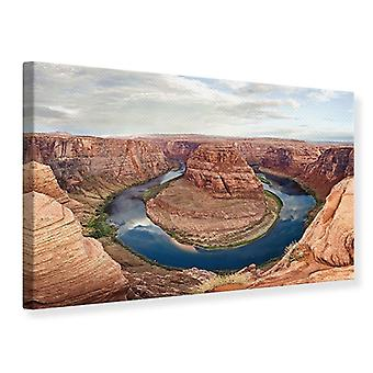 Canvas Print Horseshoe Bend