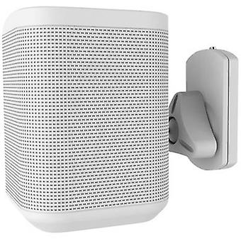 Speaker wall mount Swivelling/tiltable, Swivelling Distance to wall (max.): 1
