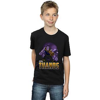 Avengers chłopców Infinity War Thanos charakter T-Shirt