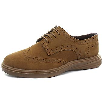 London Brogues Trent Mens Derby Brogue Shoes  AND COLOURS