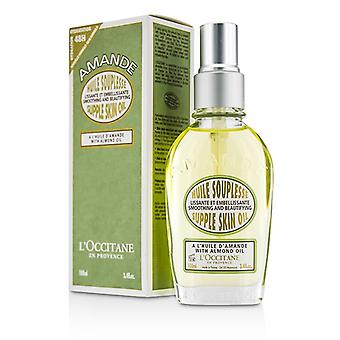 L'Occitane Almond Supple Skin Oil - Smoothing & Beautifying 100ml/3.3oz