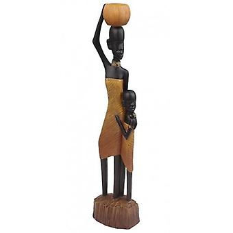 Eglo Figure African Woman and Child (Decoration , Figures / Statues)