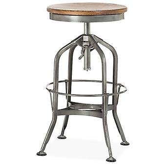 Wellindal Industrial H62 Stool Ancient Iron